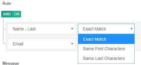 Online Form Builder with Duplicate Detection Rules